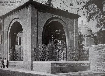Ravenna. Completato il restauro del Quadrarco di Braccioforte. Opera di Umberto Bellotto.