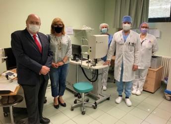 Riccione. Da Romagna Banca un retinografo ad ottiche adattive per l'ospedale 'Ceccarini'.