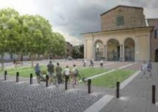 Lugo. Piazza Savonarola si svela al pubblico. Pezzo di città tolto dal degrado e restituito in nuova vesta.