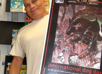 Forlì. Alla fumettoteca regionale ' Calle' l'International Dog Day, la mostra  con il ' Cane dantesco'.