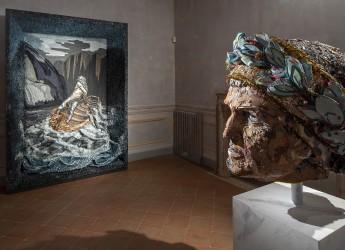 Ravenna. Scart: la 'Divina commedia' raccontata col mosaico. Il progetto Hera 'illumina' palazzo Rasponi.