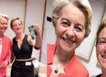 Non solo sport. Van der Leyen a Bebe: ' Sei un simbolo!'. Champions: ride la Signora, frignano le milanesi.