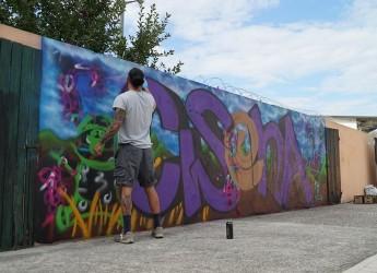 Cesena. Raccontiamoci la città. Progetto di riqualificazione artistica promosso dal circolo ' La Pioppa'.