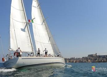 Roma. La Marina militare alla Regata Barcolana 53 e alla Classic. Scende in mare la nave Orsa Maggiore.