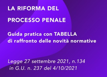 Roma. La riforma del processo penale. Un primo commento degli avv. Sirotti Gaudenzi e  Rossetti.