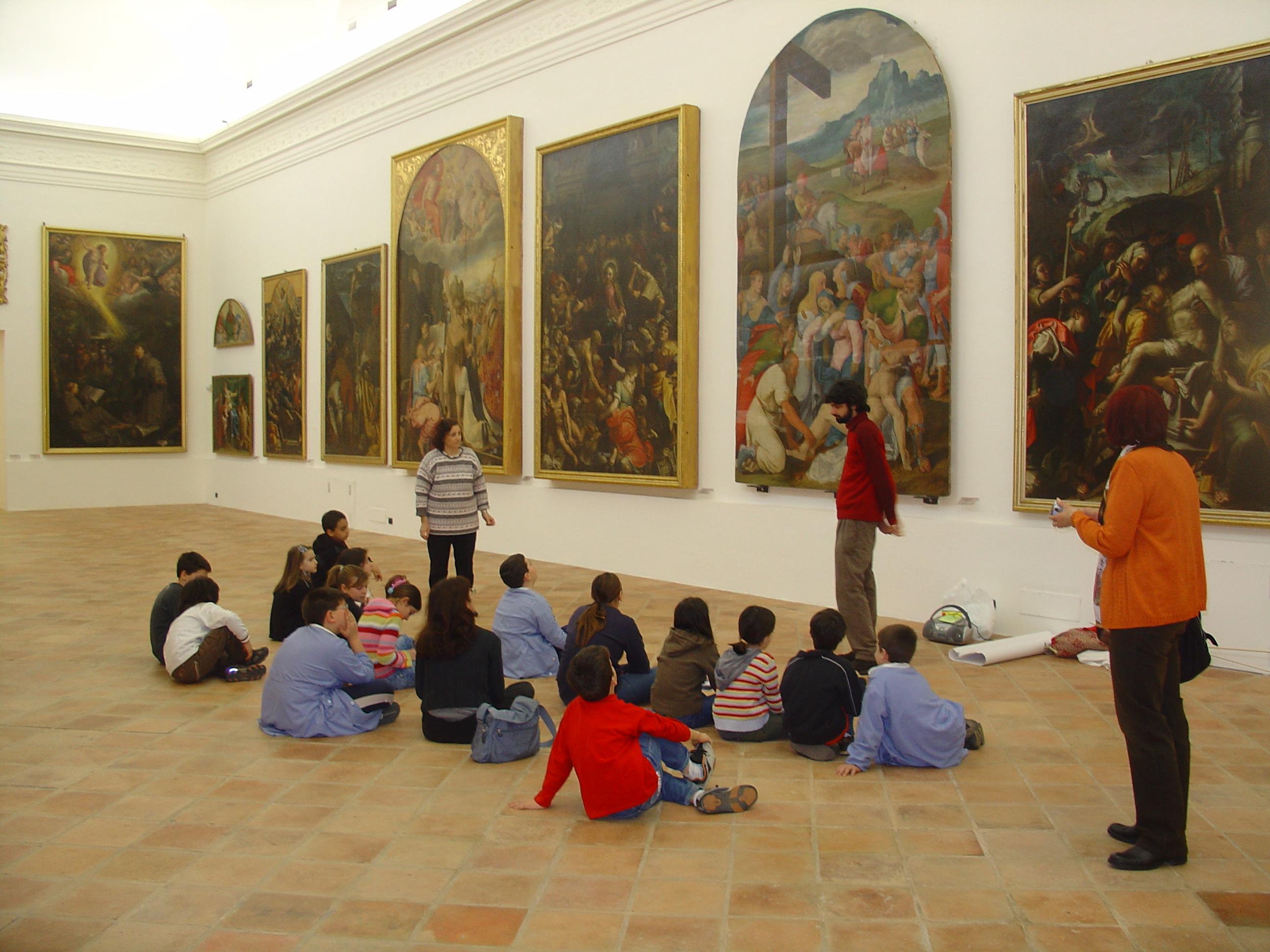 Pinacoteca di Faenza.  Immagine di repertorio.