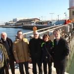 Sei delegazioni europee in visita a Cesenatico, Porte Vinciane