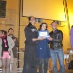 Mangiafalò 2012 - Premiazione da six  Raul Sommariba, R.Tassinari e R.Ragazzini sindaco e assessore Turismo Rocca