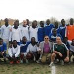 Senegal-Resto del mondo in maglia bianca