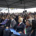 I sindaci all'inaugurazione del casello Valle del Rubicone