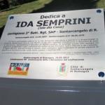 Inaugurazione Santarcangelo, lapide I da Semprini 102