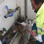 Intervento Hera per riparazione contatore acqua ghiacciato