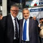 Pironi e il pres.Cnr Luigi Nicolais 1