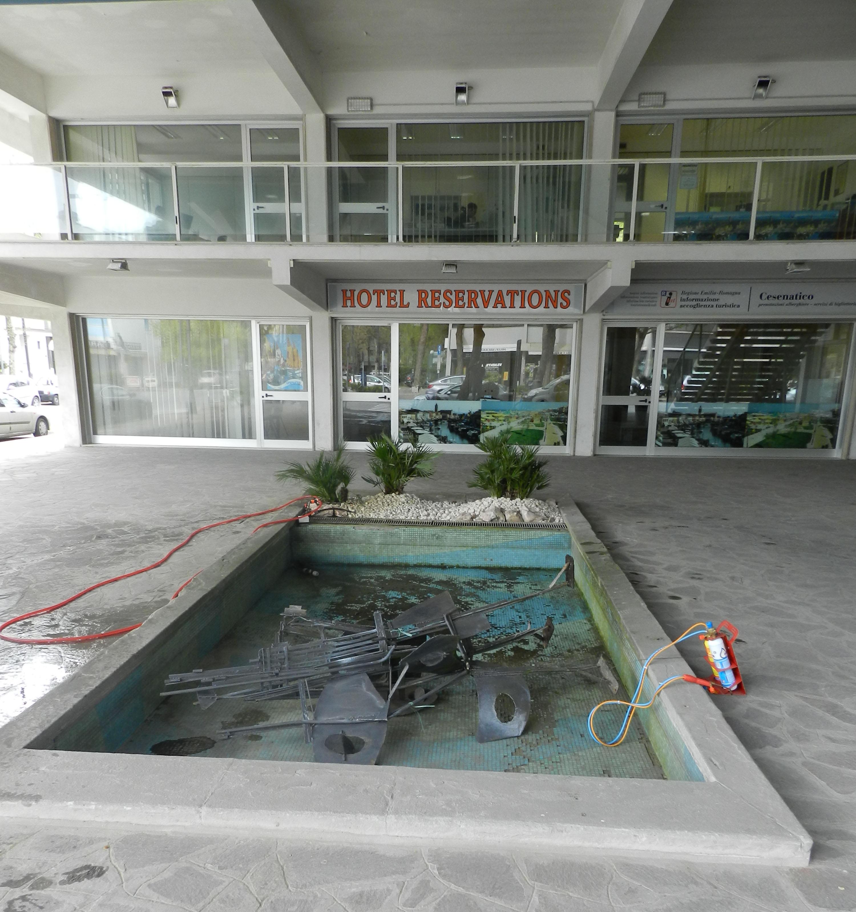 Cesenatico. E\' pronta per il restauro la fontana di Pier Claudio ...