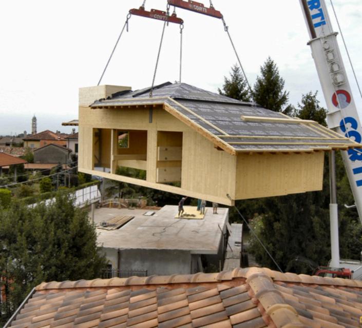 Fiera di rimini la casa sull albero l anticipo delle sopraelevazioni in legno sui nostri edifici - Fiere per la casa ...