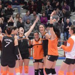 Festeggiamento Volley 2002 Forlì