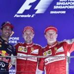 Vettel a Singapore images