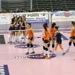 Volley Pesaro - Volley 2002 Forlì (un momento della partita)