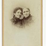 Giulia Montanari e la madre